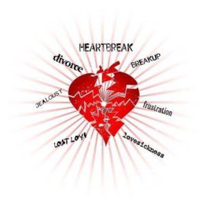onrust of emotionele pijn in je relatie