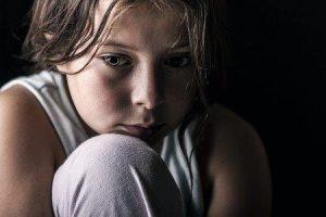 depressief meisje