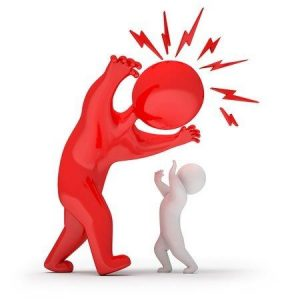 een vorm van kindermishandeling is dat een volwassene schreeuwt tegen een kind