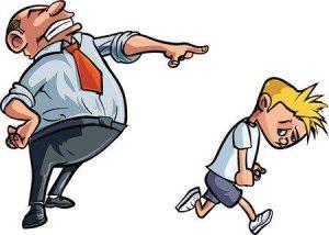 een vorm van kindermishandeling is het tekeer gaan tegen je kind
