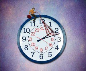 ongeduld heeft niets met tijd te maken