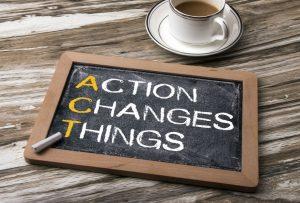 Actie doet dingen veranderen